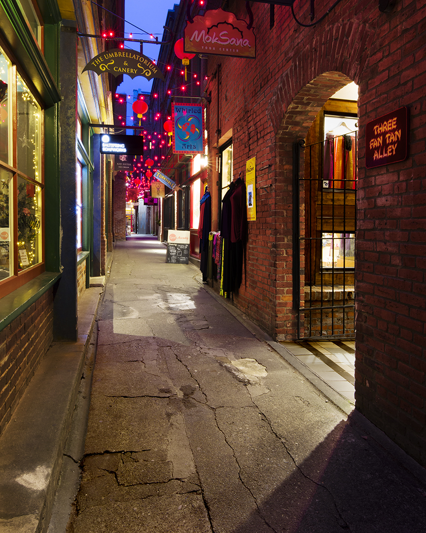 Three Fan Tan Alley