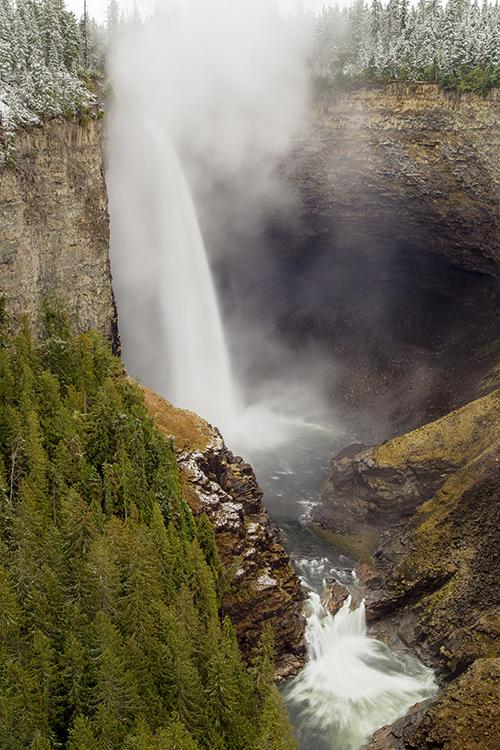 Sean Schuster Fine Art Photography Canada | Helmcken-Falls