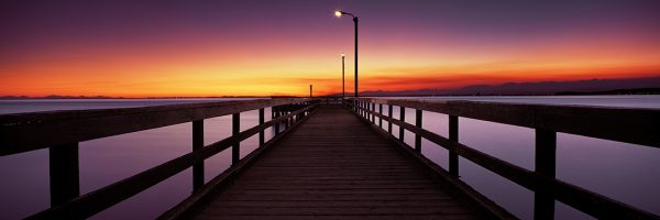 Sean Schuster Fine Art Photography Canada   Sunset-Boardwalk