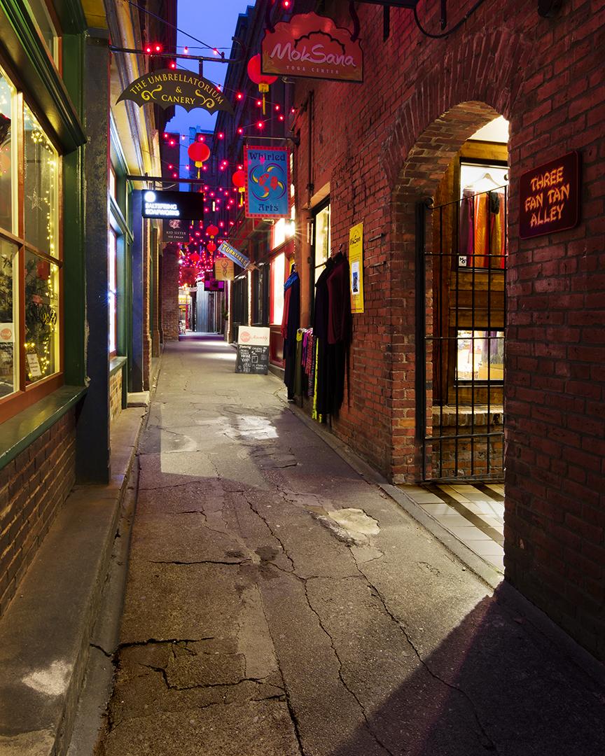Three Fan Tan Alley