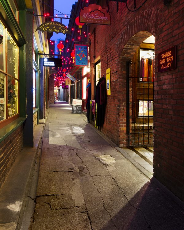 Sean Schuster Fine Art Photography Canada | Three-Fan-Tan-Alley-Sean-Schuster
