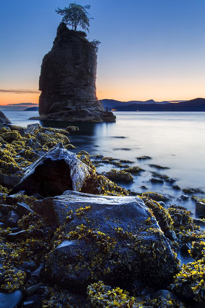 Siwash'd Rocks